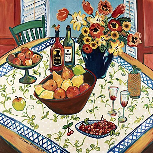 Table View Poster Print by Suzanne Etienne (12 x 12)