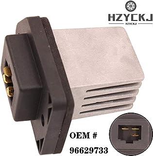 HZYCKJSteuerwiderstand für Motorlüfter des Geschwindigkeitsreglermoduls des Fahrzeuggebläses OEM # 96629733