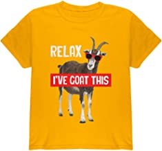 Animal World Relax I've Goat Got This Youth T Shirt