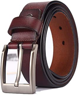 11a2419b8 Elibone Belt for Men Cow genuine leather strap Designer Belts Male High Genuine  Leather Belt Men