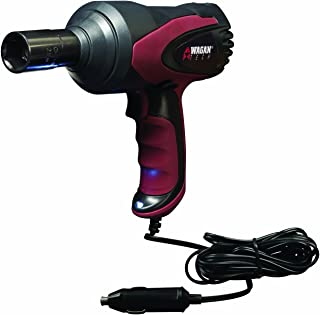 Wagan EL2257 12V DC Mighty Impact Wrench, 1/2 inch 12 Volt Electric Impact Wrench Kit,..