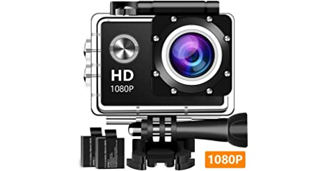 Tsvshe 1080P Full HD Waterproof Underwater Sport Camera only $14.99