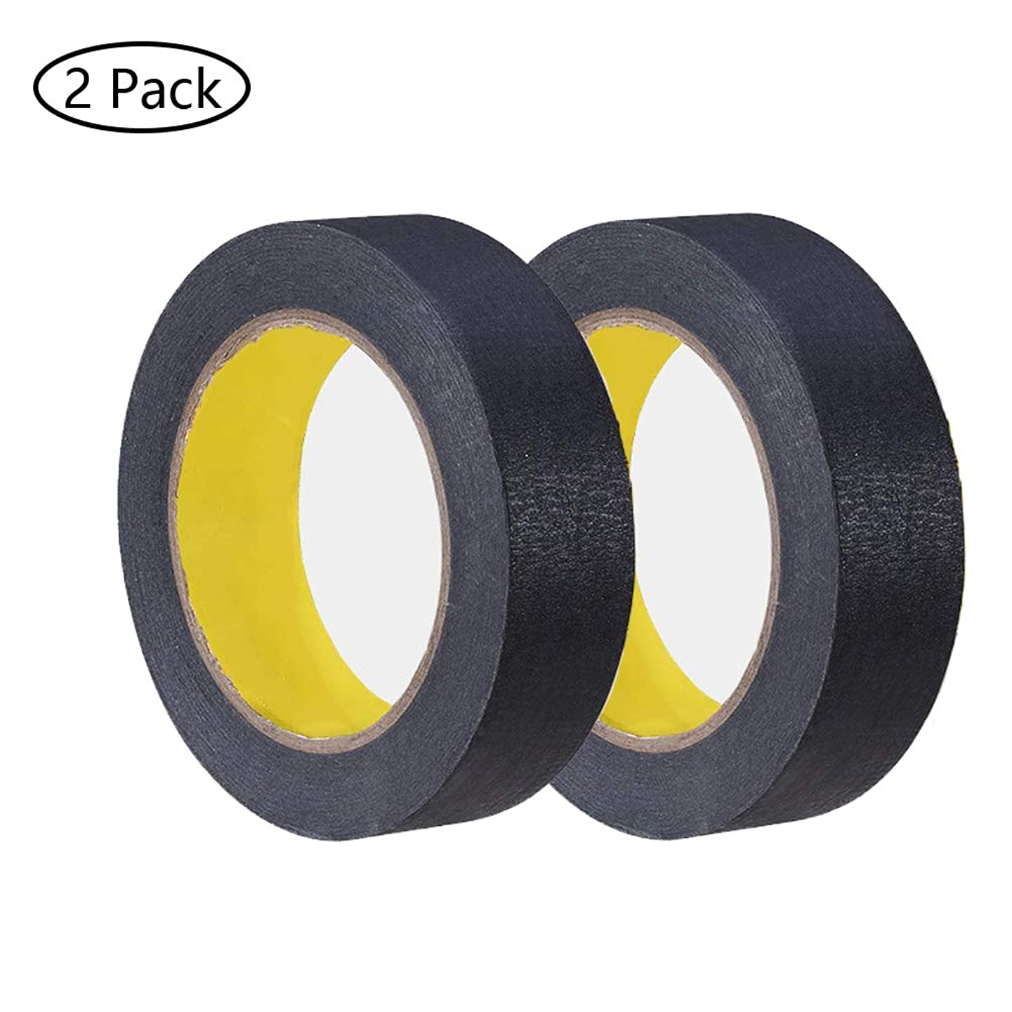 Painters Tape, 2 Pack 1.18 inch / 30mm 60yd Multi Surface Blue Painters Tape Masking Tape Easy Removal Leaves No Adhesive Residue