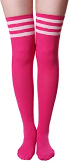 Best over the knee socks pink Reviews