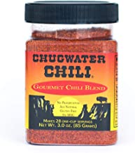 product image for Chugwater Chili | Gourmet Chili Seasoning Mix & Taco Seasoning | 3oz Tub | Wyoming State Championship Chili Recipe | Secret Blend 12 Spices | All Natural, Gluten Free, No MSG & No Preservatives.