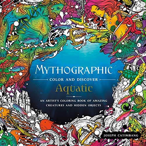 Mythographic Color and Discover: Aquatic: An Artist
