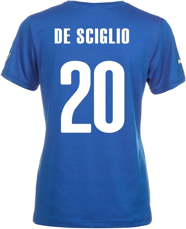 Puma DE SCIGLIO  20  Home Jersey World Cup 2014 (Women)