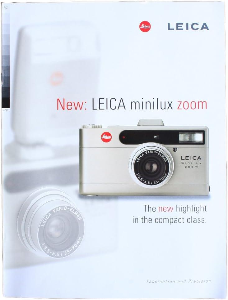 LEICA MINILUX BROCHURE 2021 model ZOOM Max 69% OFF
