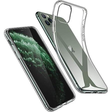 "ESR Funda TPU Compatible con iPhone 11 Pro 5.8"" (2019), Carcasa Anti-Golpes y Anti-Arañazos con Parachoques de Silicona Suave Flexible, Transparente"