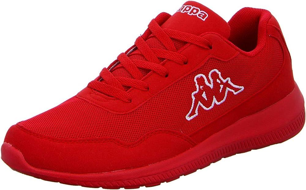 Kappa,scarpe da ginnastica unisex,in tessuto sintetico,effetto rete 242512XL