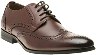Peter Werth Round Toe Brogue Mens Shoes Brown