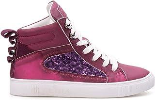Pegia Hakiki Deri Payetli Kadın Sneaker LA1210