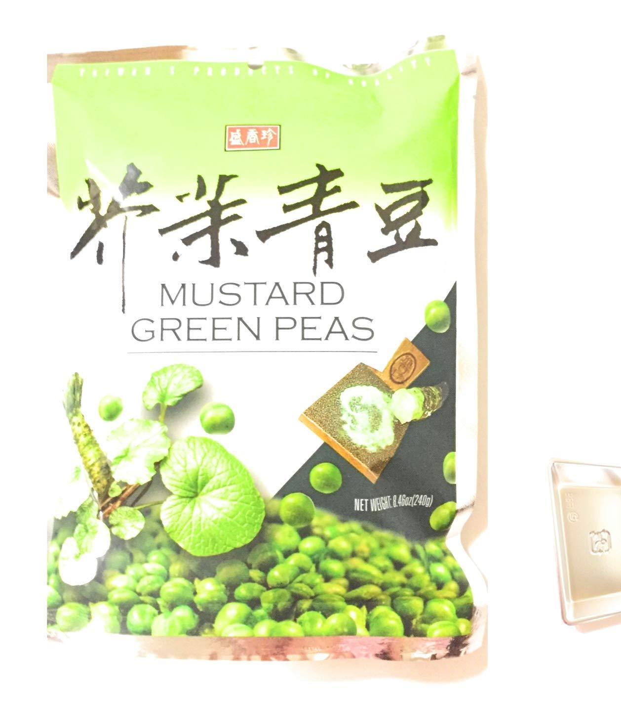 Sheng Xiang Zhen Mustard Green Peas 1 Pack Memphis Mall I And Dealing full price reduction Sa 8.46 Oz Soy