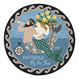 Round Rugs Kitchen Rugs Round Area Rugs Claire Murray Rugs 30' Round Washable Mermaid