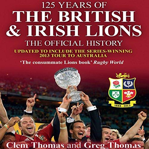 125 Years of the British & Irish Lions cover art