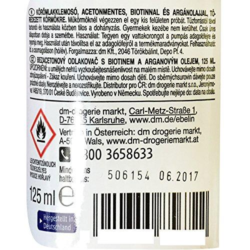 ebelin Professional Nagellackentferner Acetonfrei (125ml Dose)