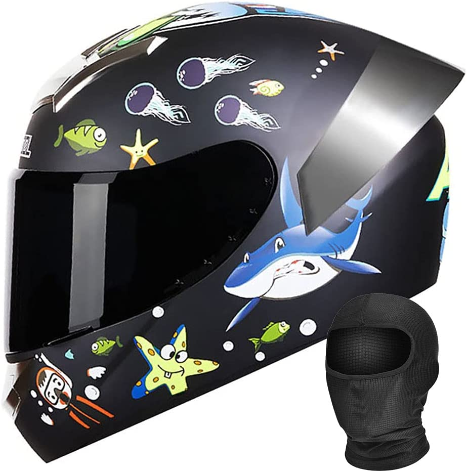 Full Face Motorcycle Helmet DOT Ligh ECE Compact Regular store Approved Genuine Free Shipping Unisex