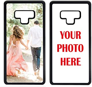 ArtsyCase Custom Personalized Picture Photo Phone Case for Samsung Galaxy Note 9 (Black)