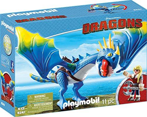 PLAYMOBIL 9247 - DreamWorks Dragons, Astrid und Sturmpfeil, Ab 4 Jahren