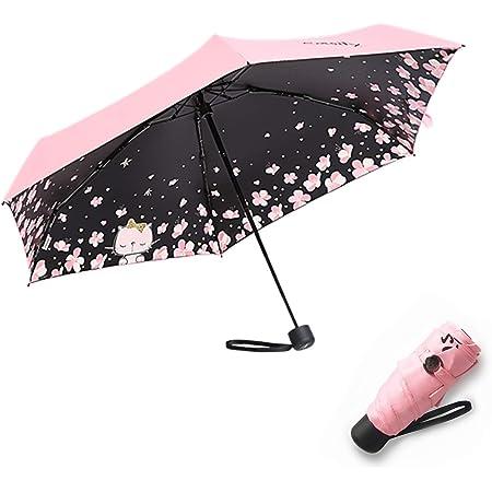 Diam 91 cm Mini Parapluie Animalier Pliant de Voyage avec Bordure Fluo Vert Citron Parapluie Pliable Petit Coupe Vent Perletti Trend Super Compact Parapluie Z/ébr/é de Poche Femme