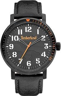 Timberland Orologio Analogueico Quarzo Uomo con Cinturino in Pelle TDWGA2101603