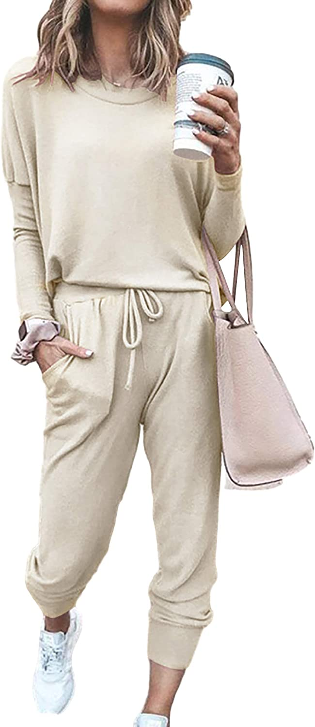 Alisa Pan Women's Solid Colour Summer Tops and Pants Gym Set 2 Pieces Sport Outfits Tracksuit Sportwear 30020