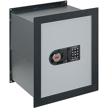 FAC 13004 Caja fuerte, Gris, 485x380x310mm: Amazon.es: Bricolaje y ...