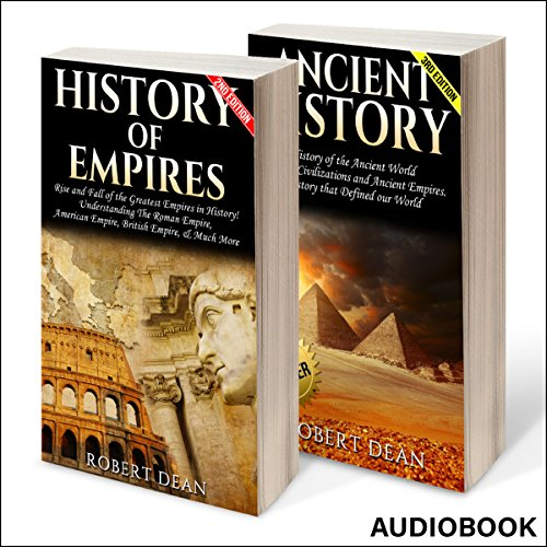 Ancient History, Bundle 1: History of Empires, Ancient History audiobook cover art