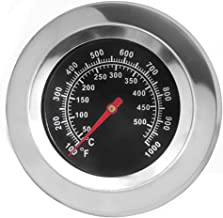 DOZYANT BBQ Temperature Gauge Thermometer Replacement for Master Forge, Cuisinart, Backyard, Uniflame and Other Gas Grill,...