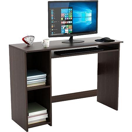 BLUEWUD Mallium Engineered Wood Office Desk; Study Desk(Wenge)