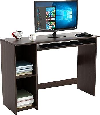 BLUEWUD Mallium Engineered Wood Study Table/Office Desk for Home & Office (Wenge Finish)