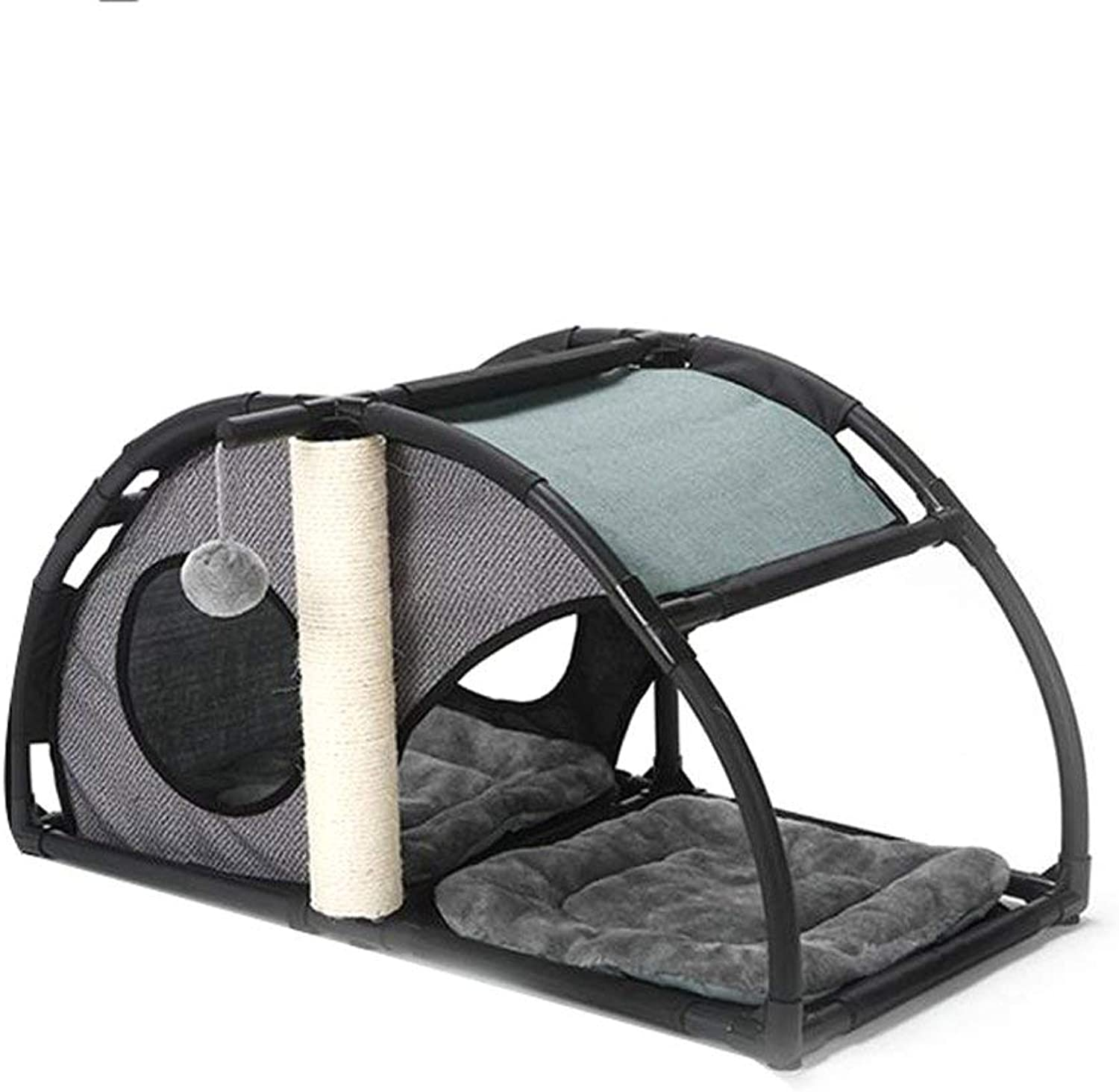 YQSMYSW Cat Climbing Frame Cat Toy Pet House Cat House Dog House Kennel Pet Supplies Pet Bed