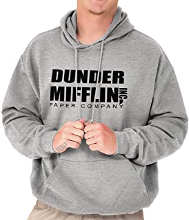 Brisco Brands Dunder Paper Company Mifflin Office TV Show Hoodie Sweatshirt
