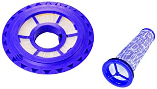 Home Deals USA Dyson DC41, DC65 DC66 Hepa Post Filter & Washable Pre Filter Kit Replaces Part # 920769-01 & 920640-01 - Combo Pack