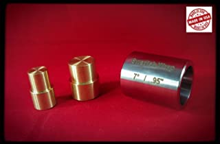 """Small Swedish Wrap Die (.95"""") with Brass Plungers (2 Push Rods)"""