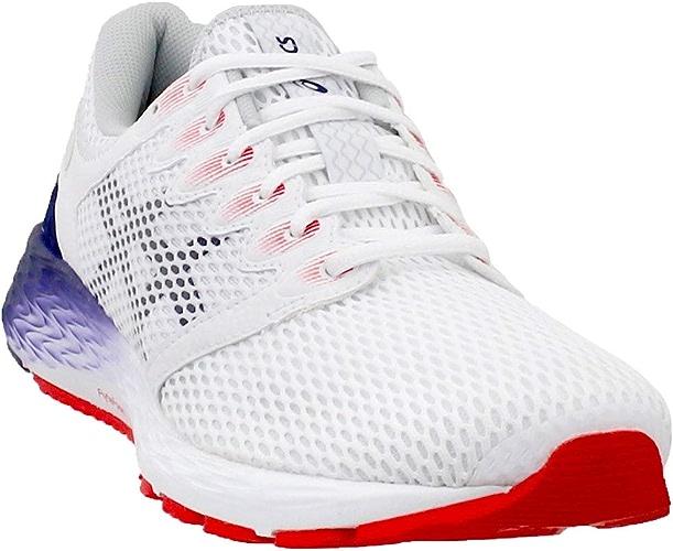 ASICS Hommes's Roadhawk FF 2 FonctionneHommest chaussures, blanc Peacoat 11 M US
