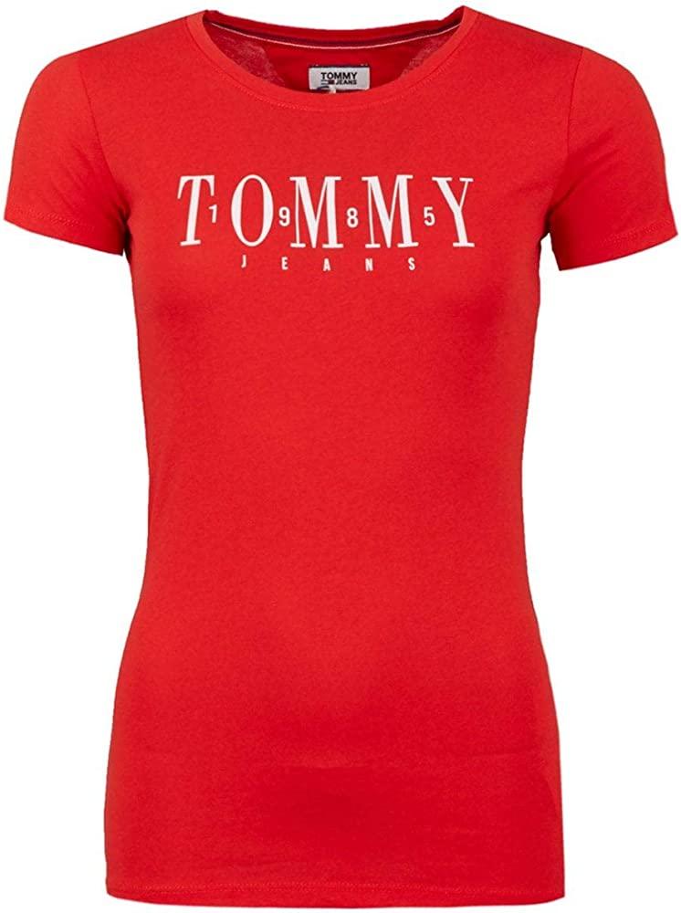Tommy hilfiger t-shirt,maglietta per donna,60% cotone, 40% poliestere DW0DW06453