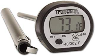 Taylor 3516 RA14260 Digital Instant Read Thermometer, apple, Black