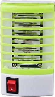 Harpily Lampara Mosquitos Led, Lámpara de Mosquitos de Enchufe Eléctrico LED, lámpara Antimosquito Interior, Repelente Mosquitos Electricos Luces de la Lámpara de Noche (Verde)