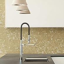 RoomMates RMK11381WP Metallic Gold Leaf Peel and Stick Wallpaper