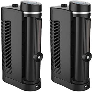 LifeSmart Sonicool Go Indoor and Outdoor Portable Air Cooler & Fan (2 Pack)