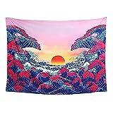 Tapestry Wandteppich Mandala Wand Teppiche SchöNe Deko FüR Zimmer Yoga Wand Dekoration Schlafzimmer Wandkunst Wohnzimmer Dekor Schrankbett Wandbehang Dekoration Wanddekoration 200 * 148