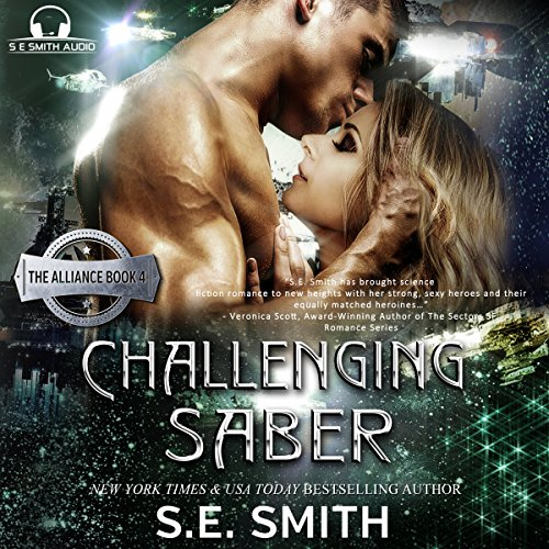 Challenging Saber audiobook cover art