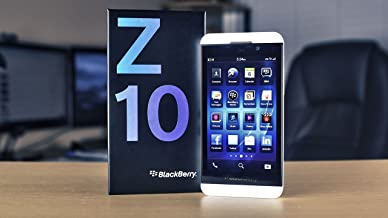 BlackBerry Z10 STL100-4 (GSM Only, No CDMA) Factory Unlocked Smartphone - White