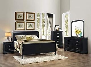 Amazon Com Bedroom Sets Black Bedroom Sets Bedroom Furniture Home Kitchen