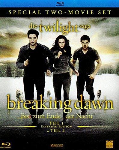 Breaking Dawn - Biss zum Ende der Nacht, Teil 1 + 2 (limit. Blu-Ray-Set)
