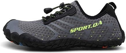 47d1c4f04bc97 DOLDOA Chaussures de scéurité Homme Chaussures Aquatiques de Mesh Chaussures  de Plage Homme de décontracté Chaussures