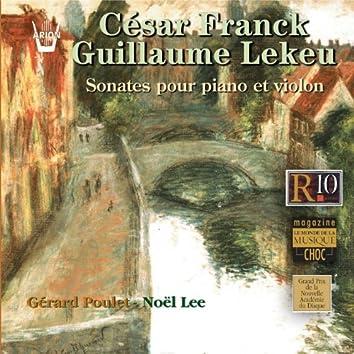 Franck  Lekeu : Sonates pour piano et violon
