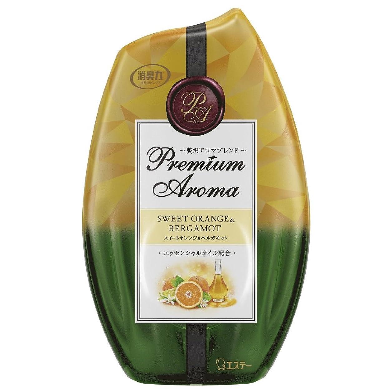 有効な首相夜の動物園お部屋の消臭力 プレミアムアロマ Premium Aroma 消臭芳香剤 部屋用 部屋 スイートオレンジ&ベルガモットの香り 400ml
