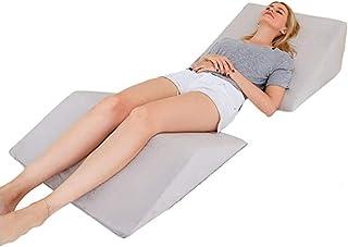Cuña Antireflujo Adulto, Volver Soporte Almohadilla de la cuña angulados Almohada, Dormir Ideal for Leer Resto Elevación Ortopédica Memory Foam Antibacterial hipoalergénicos